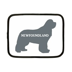 Newfie Name Silo Grey Netbook Case (Small)