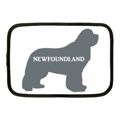 Newfie Name Silo Grey Netbook Case (Medium)