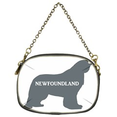 Newfie Name Silo Grey Chain Purses (One Side)
