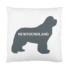 Newfie Name Silo Grey Standard Cushion Case (Two Sides)