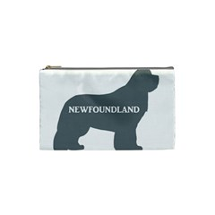 Newfie Name Silo Grey Cosmetic Bag (Small)