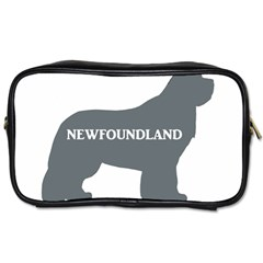 Newfie Name Silo Grey Toiletries Bags 2-Side