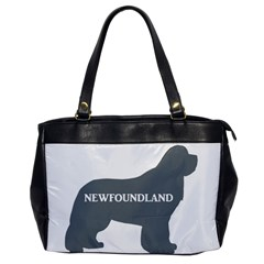 Newfie Name Silo Grey Office Handbags