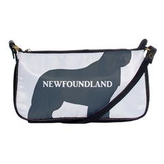 Newfie Name Silo Grey Shoulder Clutch Bags