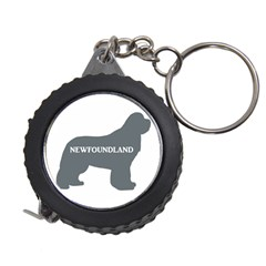 Newfie Name Silo Grey Measuring Tapes