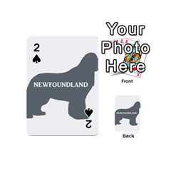Newfie Name Silo Grey Playing Cards 54 (Mini)