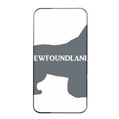 Newfie Name Silo Grey Apple iPhone 4/4s Seamless Case (Black)