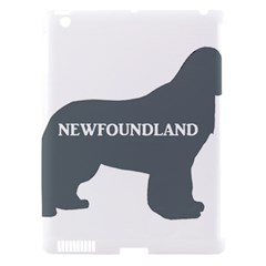 Newfie Name Silo Grey Apple iPad 3/4 Hardshell Case (Compatible with Smart Cover)