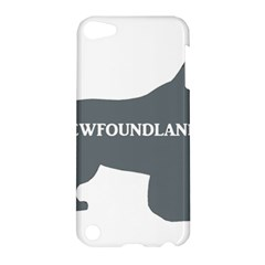Newfie Name Silo Grey Apple iPod Touch 5 Hardshell Case