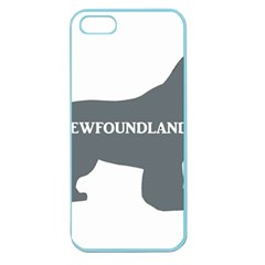 Newfie Name Silo Grey Apple Seamless iPhone 5 Case (Color)