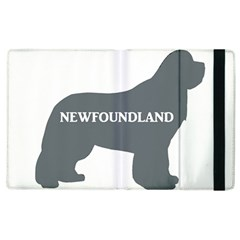 Newfie Name Silo Grey Apple iPad 2 Flip Case