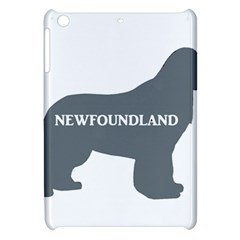 Newfie Name Silo Grey Apple iPad Mini Hardshell Case