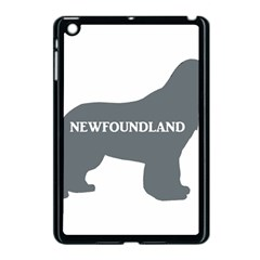Newfie Name Silo Grey Apple iPad Mini Case (Black)