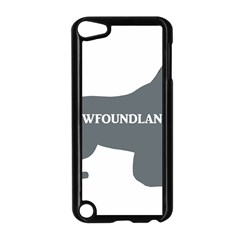 Newfie Name Silo Grey Apple iPod Touch 5 Case (Black)