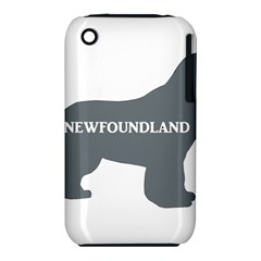 Newfie Name Silo Grey iPhone 3S/3GS