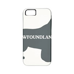 Newfie Name Silo Grey Apple iPhone 5 Classic Hardshell Case (PC+Silicone)