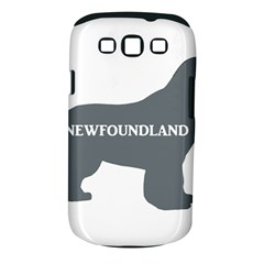 Newfie Name Silo Grey Samsung Galaxy S III Classic Hardshell Case (PC+Silicone)