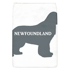 Newfie Name Silo Grey Flap Covers (S)
