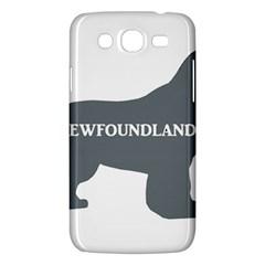 Newfie Name Silo Grey Samsung Galaxy Mega 5.8 I9152 Hardshell Case