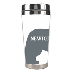 Newfie Name Silo Grey Stainless Steel Travel Tumblers