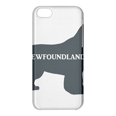 Newfie Name Silo Grey Apple iPhone 5C Hardshell Case