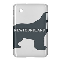 Newfie Name Silo Grey Samsung Galaxy Tab 2 (7 ) P3100 Hardshell Case