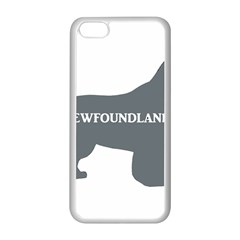 Newfie Name Silo Grey Apple iPhone 5C Seamless Case (White)