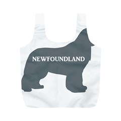 Newfie Name Silo Grey Full Print Recycle Bags (M)