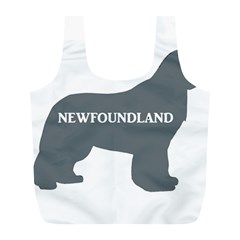 Newfie Name Silo Grey Full Print Recycle Bags (L)