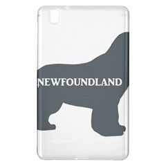 Newfie Name Silo Grey Samsung Galaxy Tab Pro 8.4 Hardshell Case