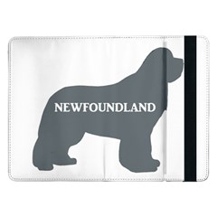 Newfie Name Silo Grey Samsung Galaxy Tab Pro 12.2  Flip Case