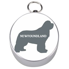 Newfie Name Silo Grey Silver Compasses