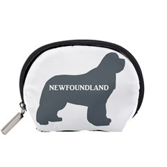 Newfie Name Silo Grey Accessory Pouches (Small)
