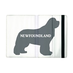 Newfie Name Silo Grey iPad Mini 2 Flip Cases