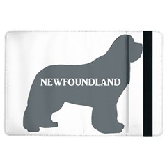 Newfie Name Silo Grey iPad Air Flip