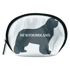 Newfie Name Silo Grey Accessory Pouches (Medium)