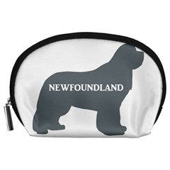 Newfie Name Silo Grey Accessory Pouches (Large)