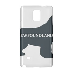 Newfie Name Silo Grey Samsung Galaxy Note 4 Hardshell Case