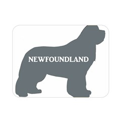 Newfie Name Silo Grey Double Sided Flano Blanket (Mini)