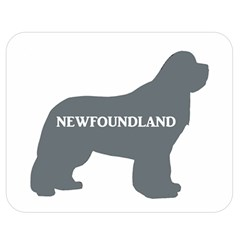 Newfie Name Silo Grey Double Sided Flano Blanket (Medium)