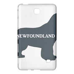 Newfie Name Silo Grey Samsung Galaxy Tab 4 (7 ) Hardshell Case