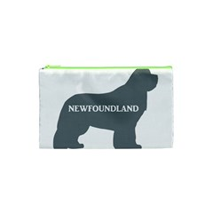 Newfie Name Silo Grey Cosmetic Bag (XS)