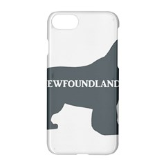 Newfie Name Silo Grey Apple iPhone 7 Hardshell Case