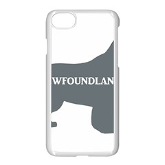 Newfie Name Silo Grey Apple iPhone 7 Seamless Case (White)
