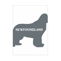 Newfie Name Silo Grey Small Tapestry