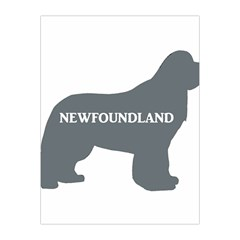 Newfie Name Silo Grey Medium Tapestry