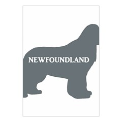 Newfie Name Silo Grey Large Tapestry