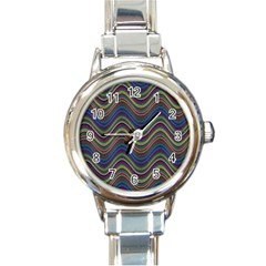 Decorative Ornamental Abstract Round Italian Charm Watch