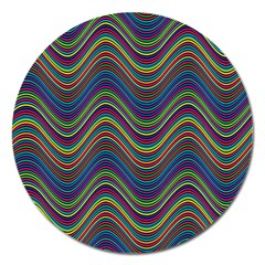 Decorative Ornamental Abstract Magnet 5  (Round)