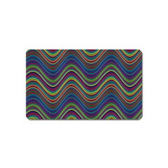 Decorative Ornamental Abstract Magnet (Name Card)